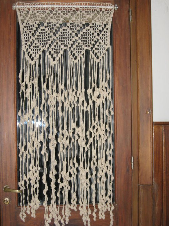 Cortinas De Baño Tejidas Al Crochet ~ Dikidu.com