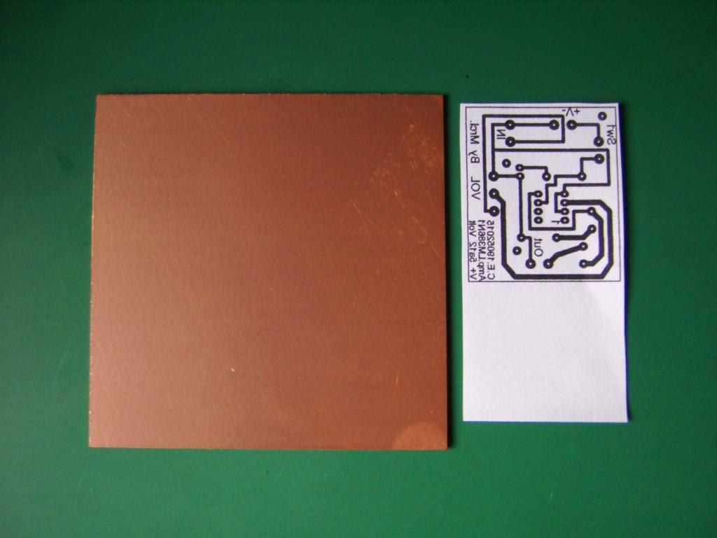 Realizando ciurcuito impreso o PCB