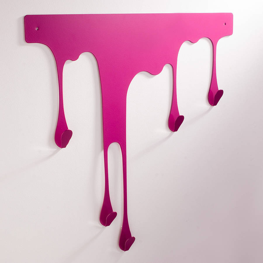 Dripping Paint Wall Design : Lapin chocolat dripping melting themed accessories