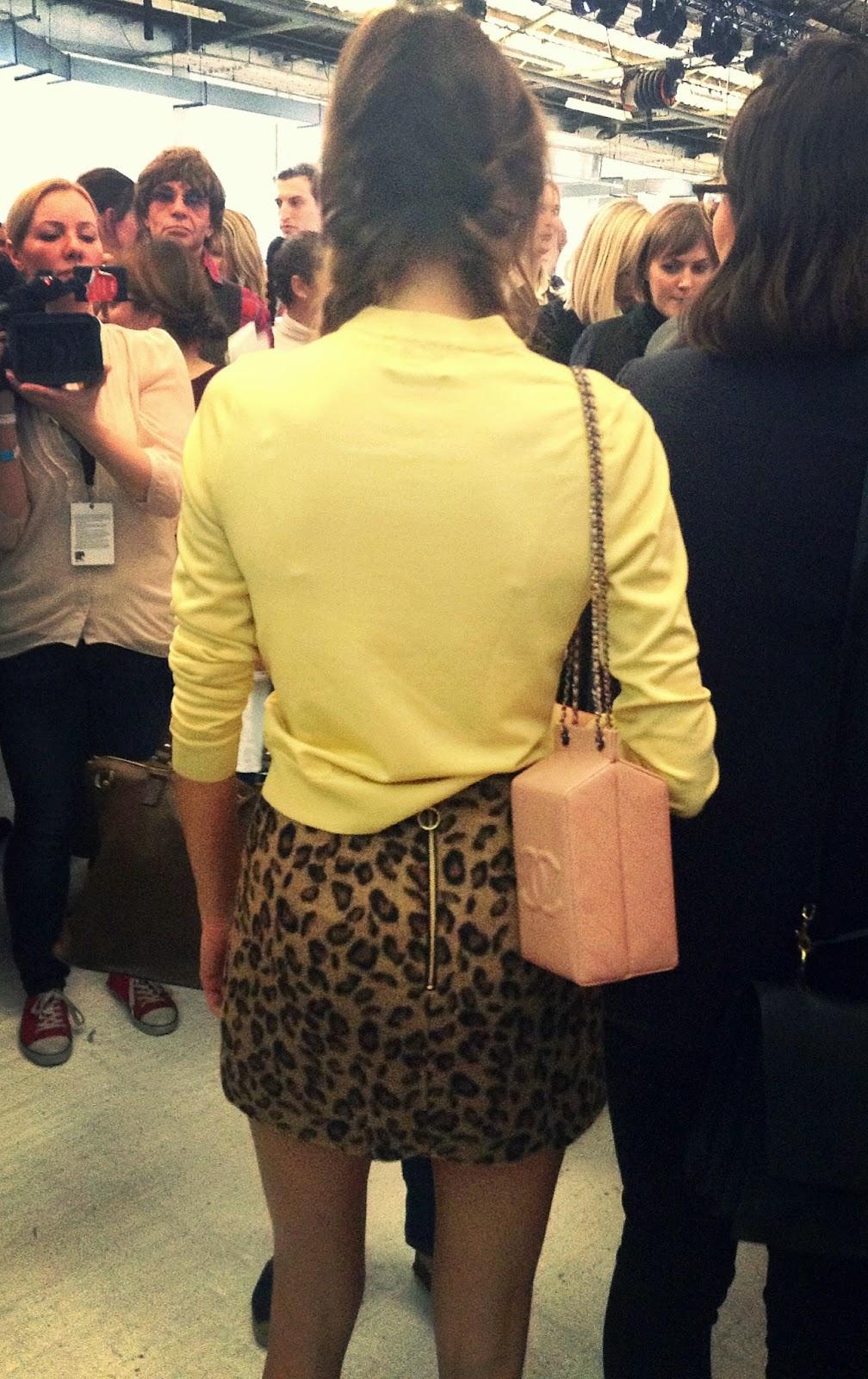 Alexa Chung Outfit Topshop Unique Channel Bag
