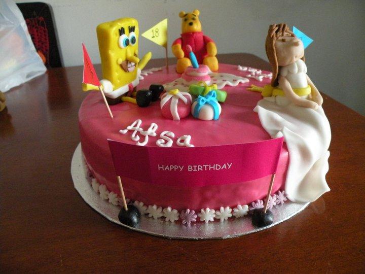 MultiCharacter Cake