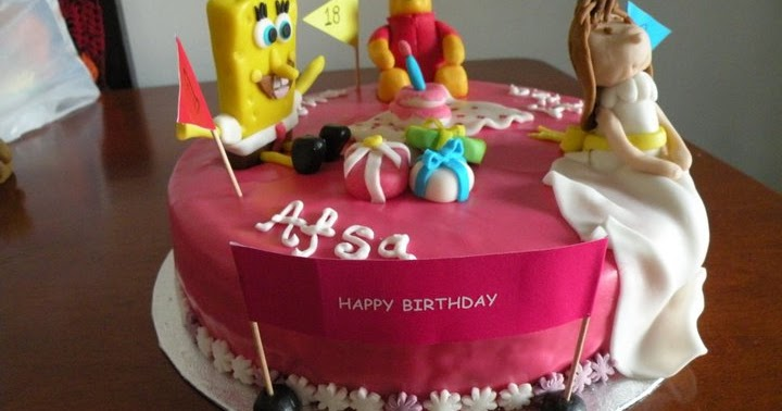 Multi-Character Cake - Cake-a-licious