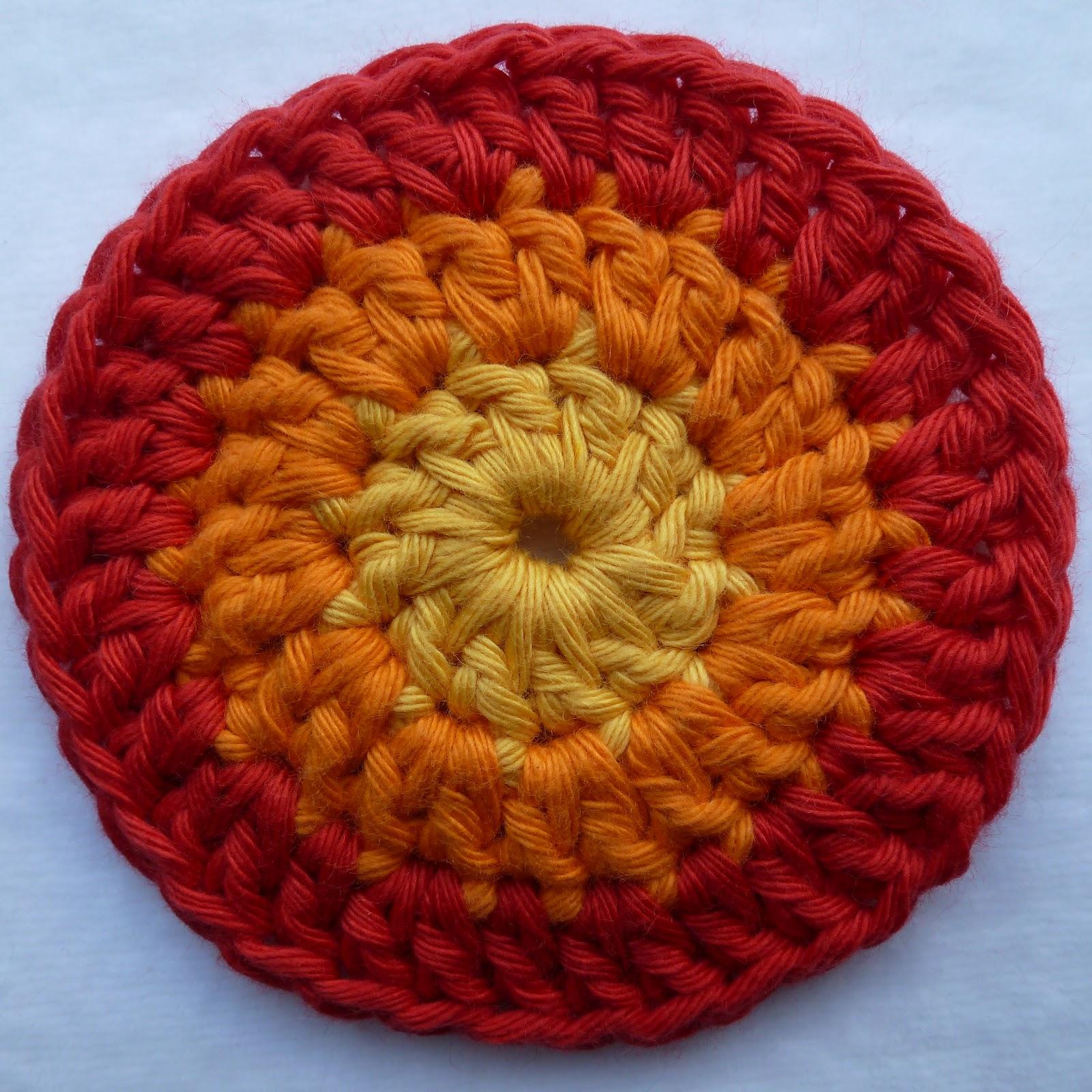 Мастер класс вязание крючком ковриков круглых6