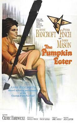 Siempre estoy sola | 1964 | The Pumpkin Eater | Caratula - Cartel de cine