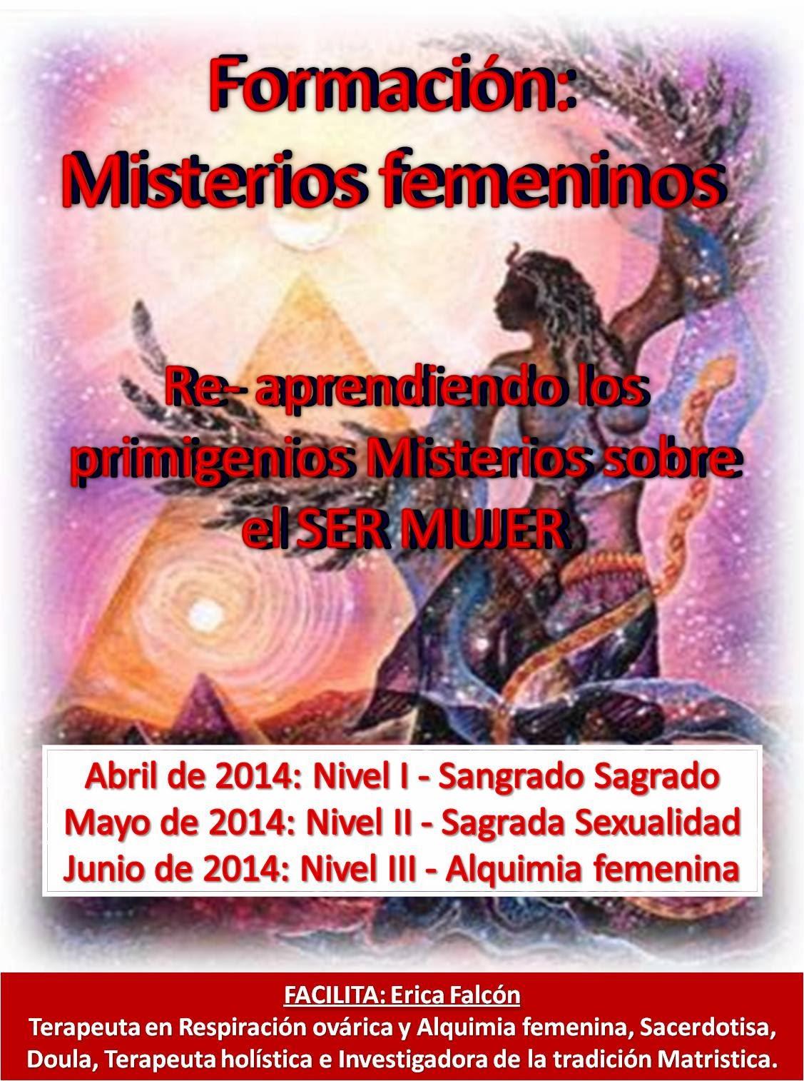 Ciclo de formacion para Mujeres: Misterios femeninos