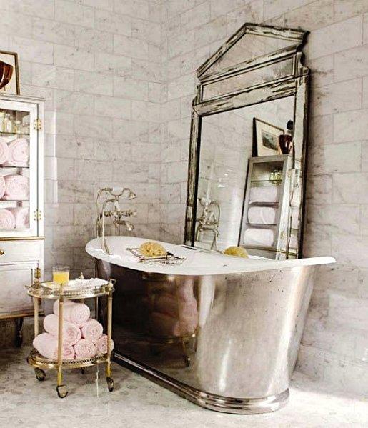 Baños Elegantes Para Casa:Vintage Bathroom