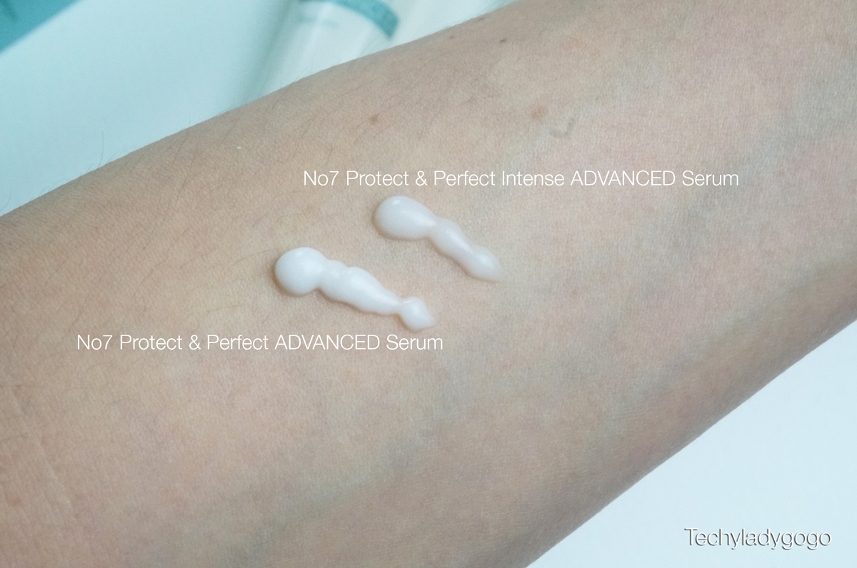 how to use no7 protect & perfect intense advanced serum