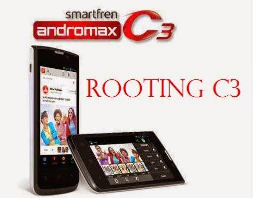 Cara Root Andromax C3