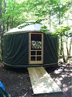 """morning call"" yurt"