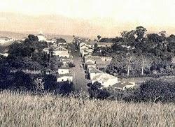 Panorâmica da cidade nos anos 1940