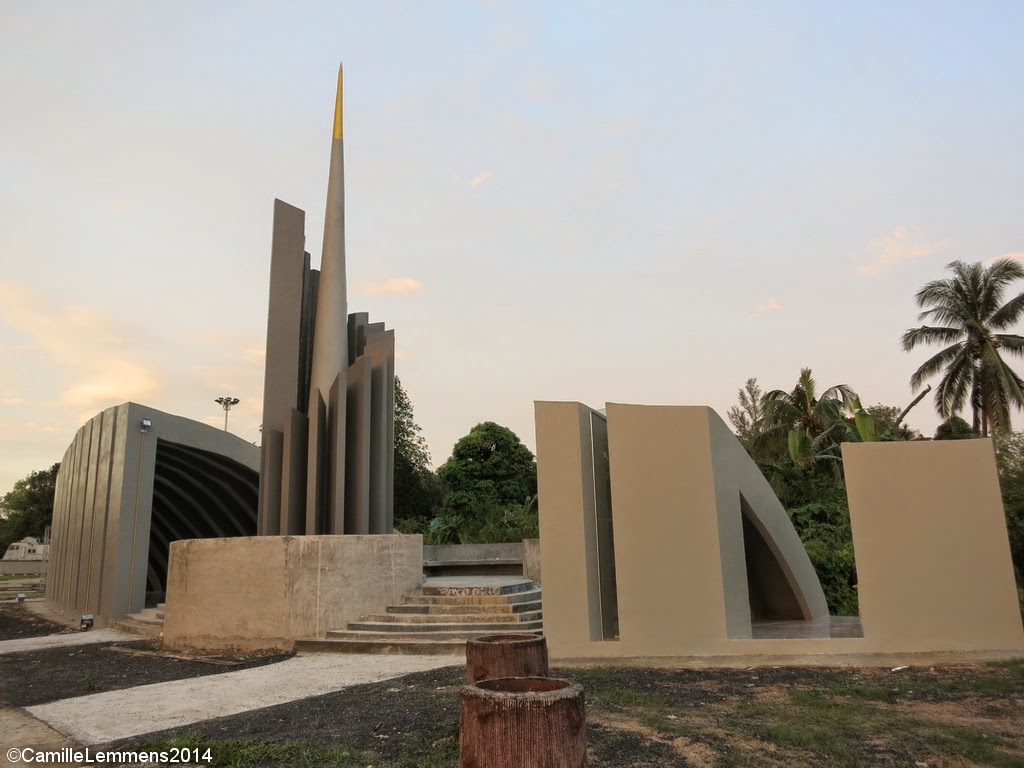 Tsunami memorial Khao Lak