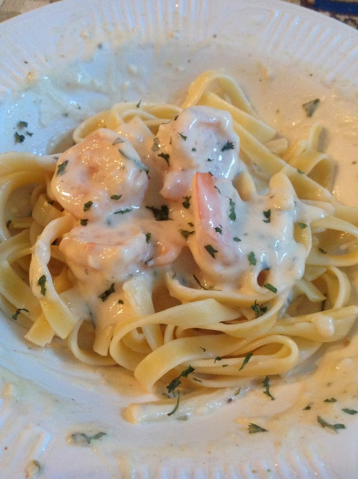 Maryland Shrimp Stroganoff