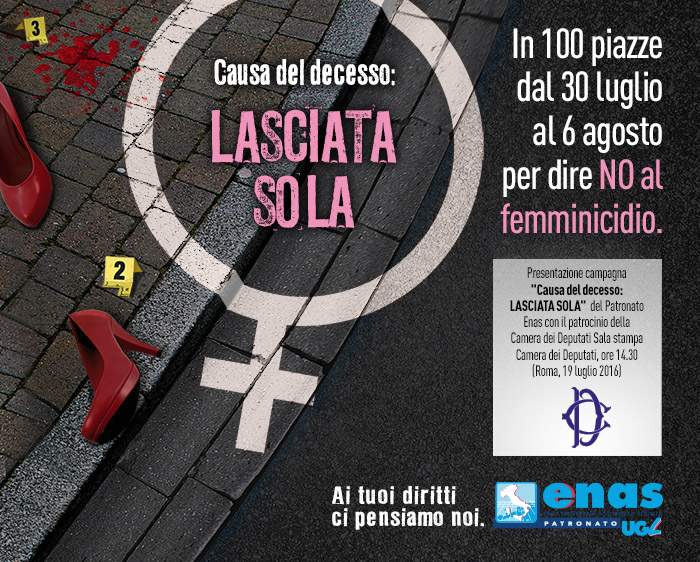 In Piazza per dire NO al femminicidio