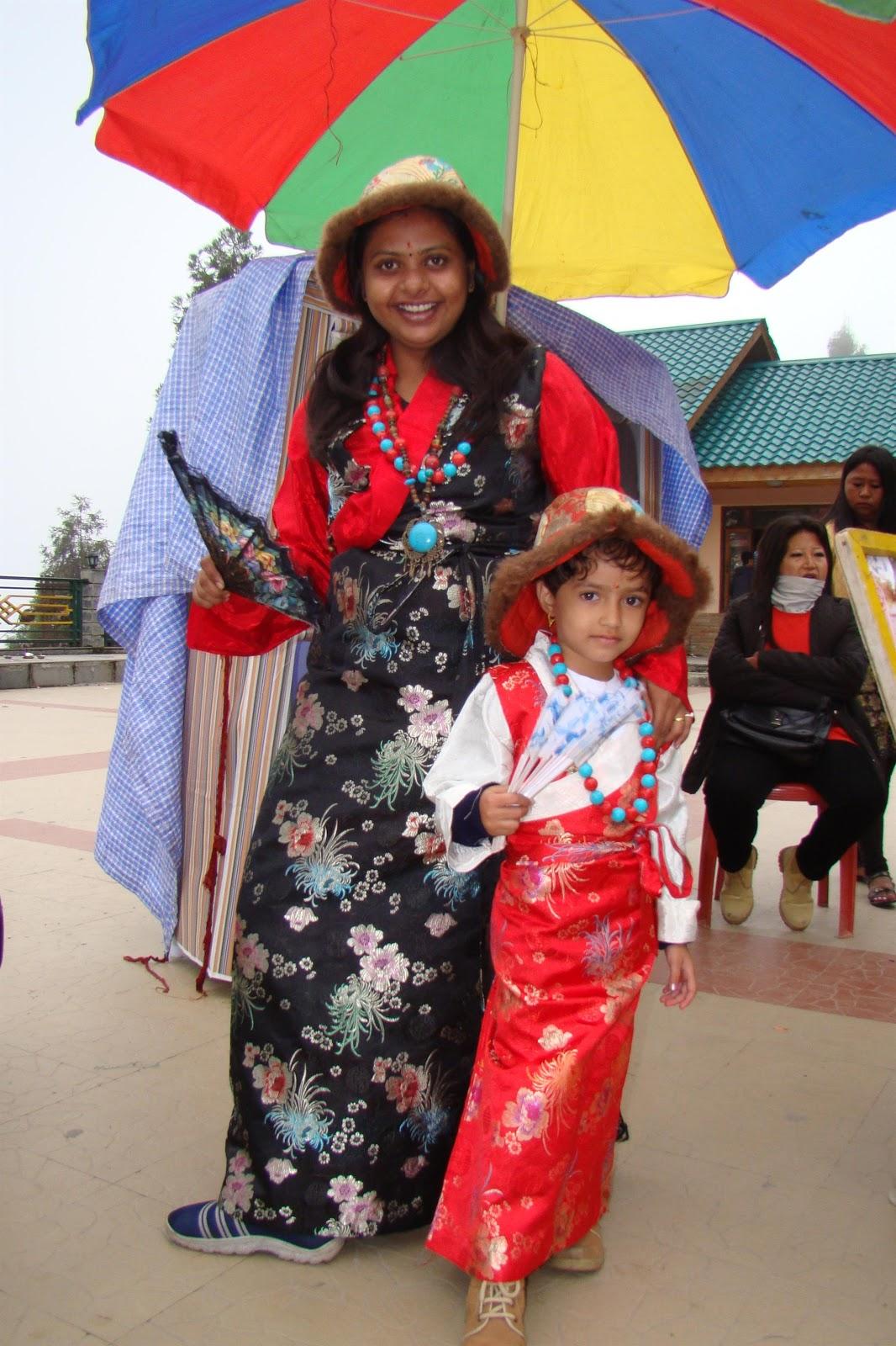 Ganesh Kharat Sikkim Women Traditional Dress