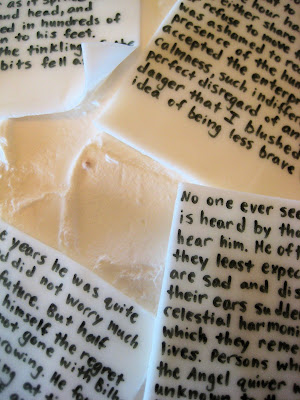 Classic Book Pages Cake - Close-Up View of Pages 3