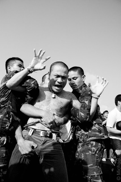 Tattoo Festival Wat Bang Phra © 2013 Michael LaPalme