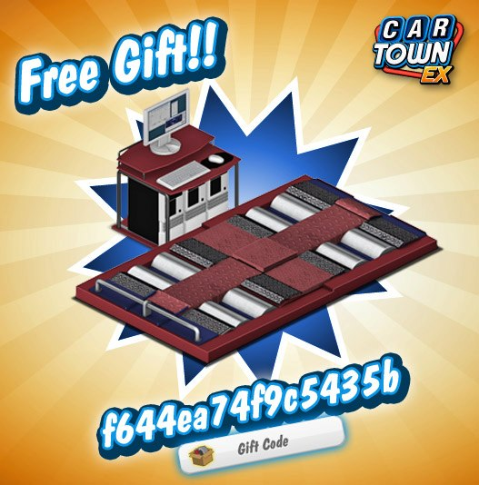 Car Town Ex Gift Codes