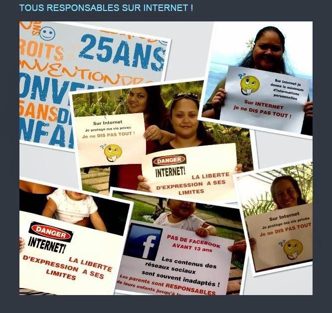 Sur Internet Tous responsables : enfants et parents