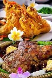 gambar resep ayam betutu khas bali Indonesia paling lezat