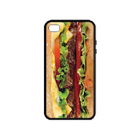 Psychobaby Eat 'Em Up Cheeseburger Phone Case