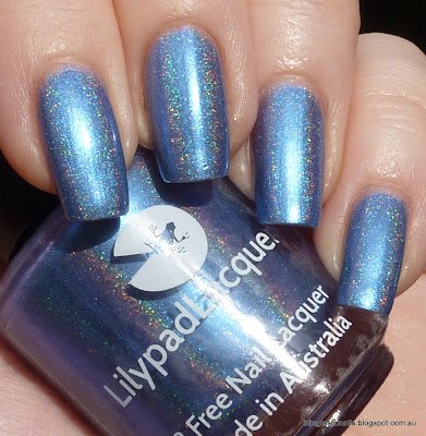 Lilypad Lacquer Periwinkle Twinkle