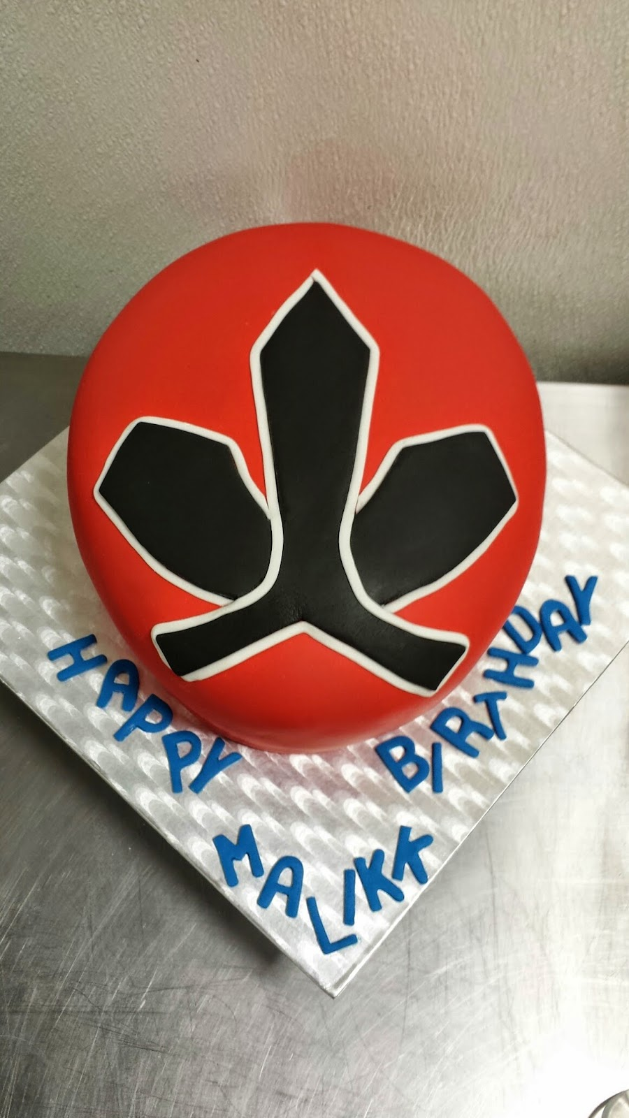 Tickled pink cakes power rangers samurai cake power rangers samurai cake buycottarizona