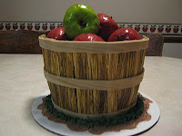 Basket of Apples Cake