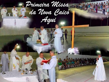 Fotos da 1ª Missa da Comunidade Nova Caicó