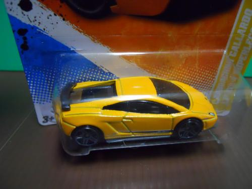 dexters diecasts dexdc hot wheels 2011 9 lamborghini gallardo yellow. Black Bedroom Furniture Sets. Home Design Ideas