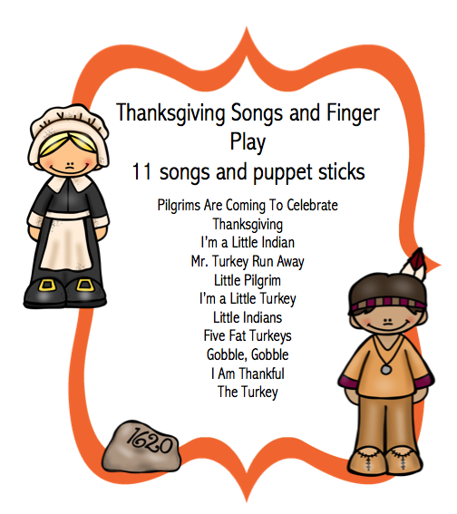finger songs for preschool thanksgiving songs and finger play preschool printables 933