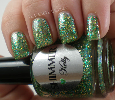 Shimmer, Kelly, Green, Gold, Indie, Glitter
