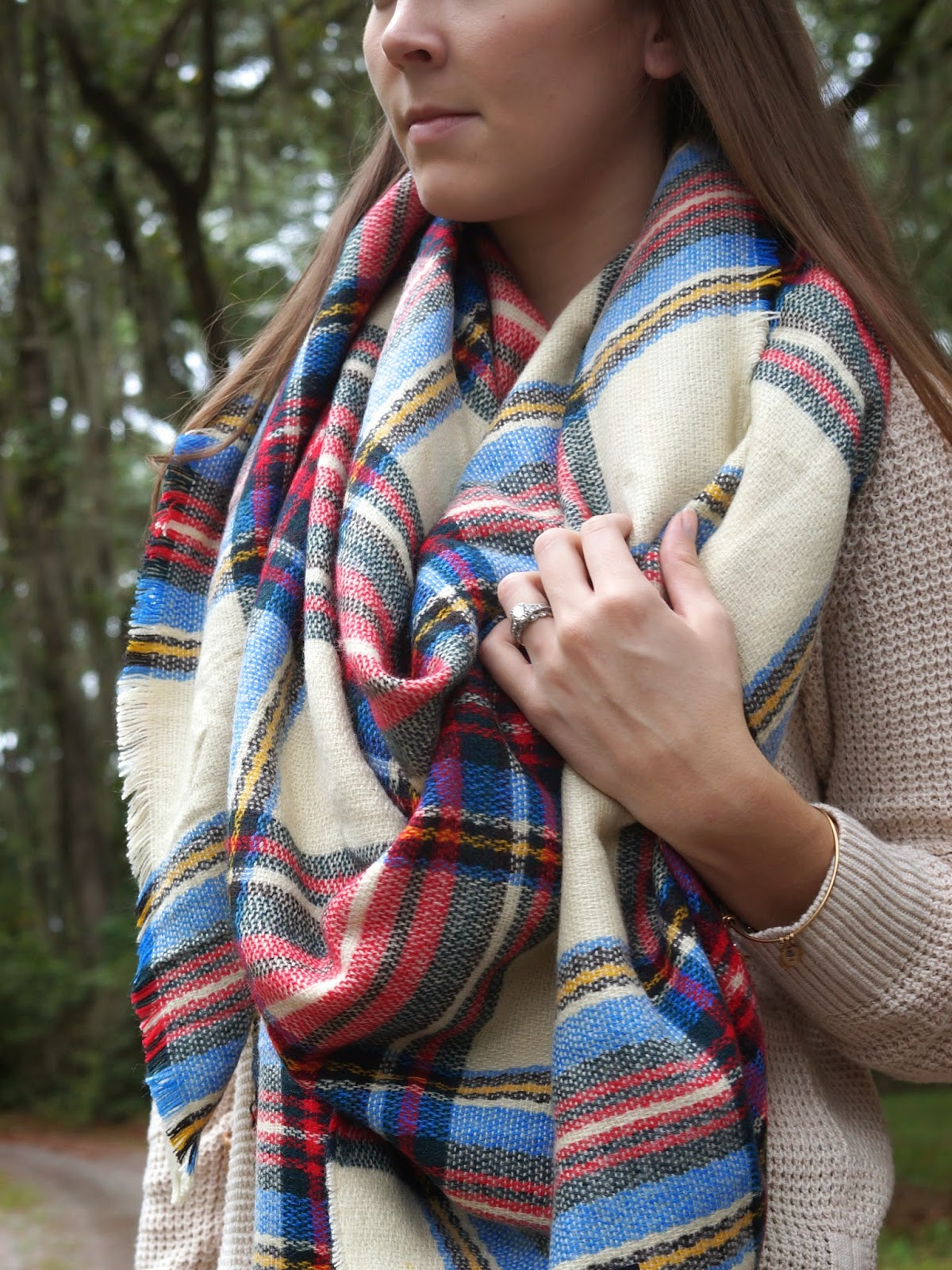 plaid scarf tartan