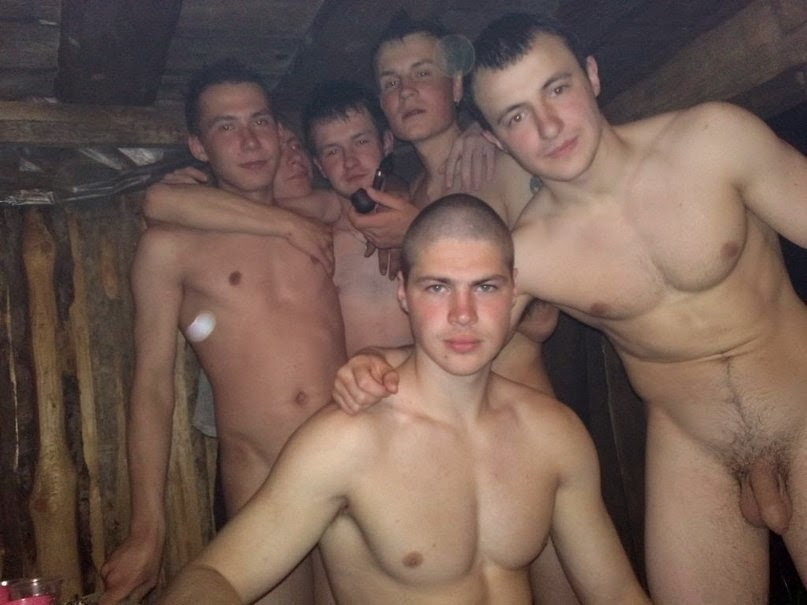 naked Russian boy