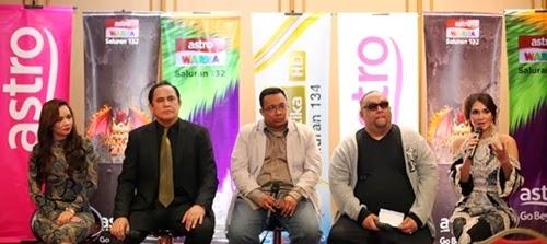 juri professional Maharaja Lawak Mega 2013, luna maya, nora danish, dato' yusof haslam