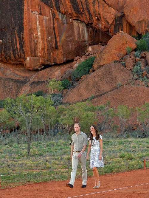 Prince William and Princess Catherine See The Beating Heart of Australia