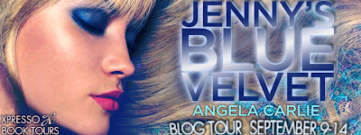 Blog Tour: Jenny's Blue Velvet by Angela Carlie
