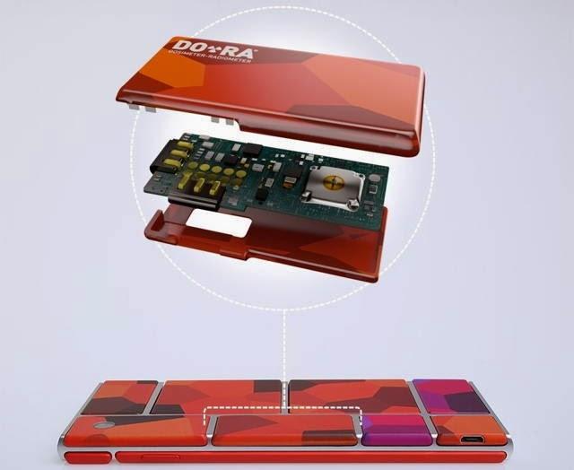 Google Ara Modular Smartphone, google, Google Ara,Smartphone ,DO-RA module,Google Ara modular
