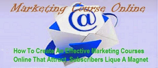 Marketing course online