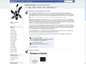 Facebook Template for Blogger