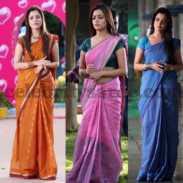 Nisha Agarwal's Cotton Mixed Silk Sarees