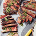 Barbecued Rump Steak with Chimichurri Sauce recipe