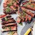Barbecued Rump Steak with Chimichurri Sauce recipe