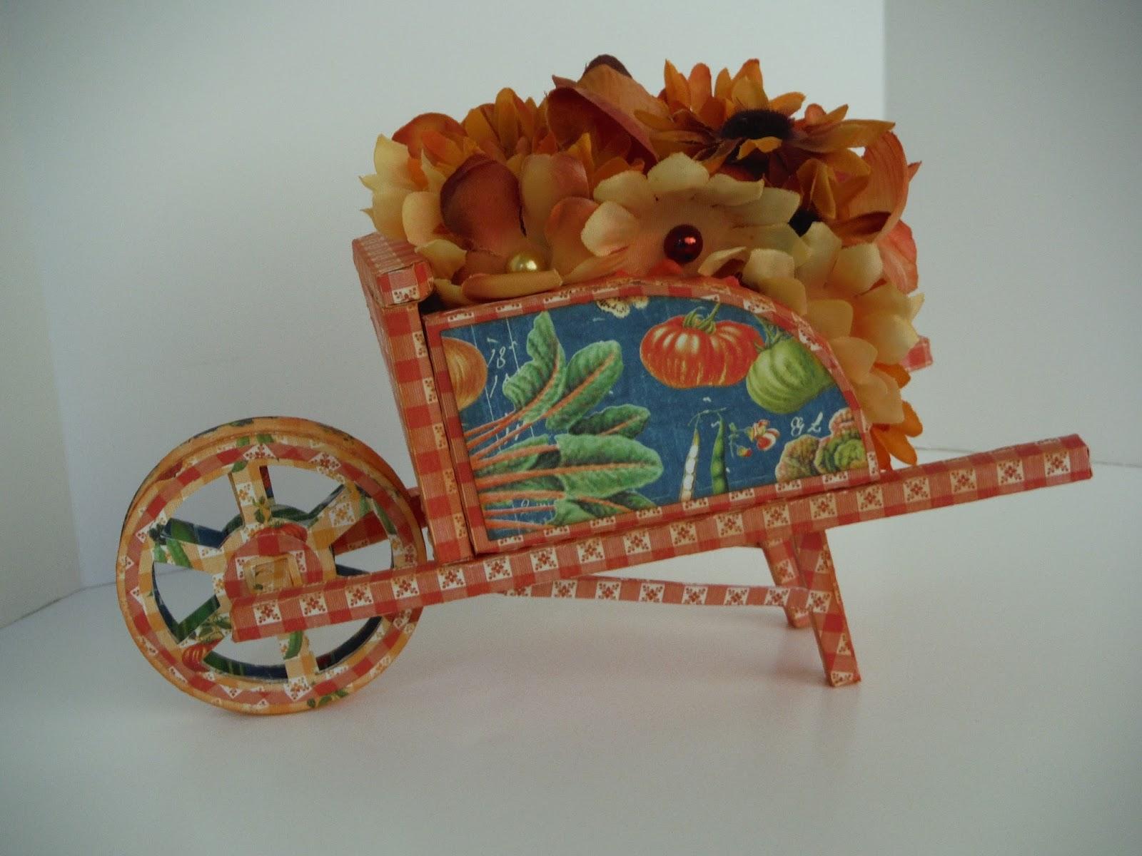 I am Cocoa\'s Mom: A Wheelbarrow Full of Flowers