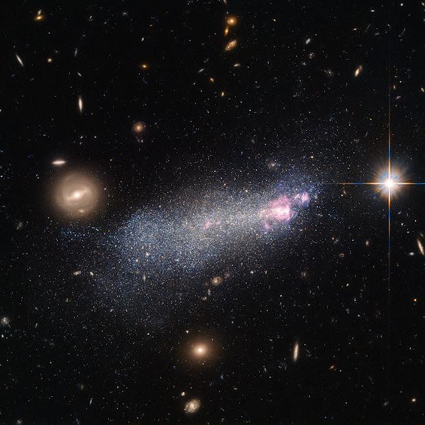 Wolf–Rayet Galaxy SBS 1415+437