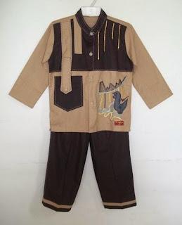 Baju muslim anak laki-laki trend 2015