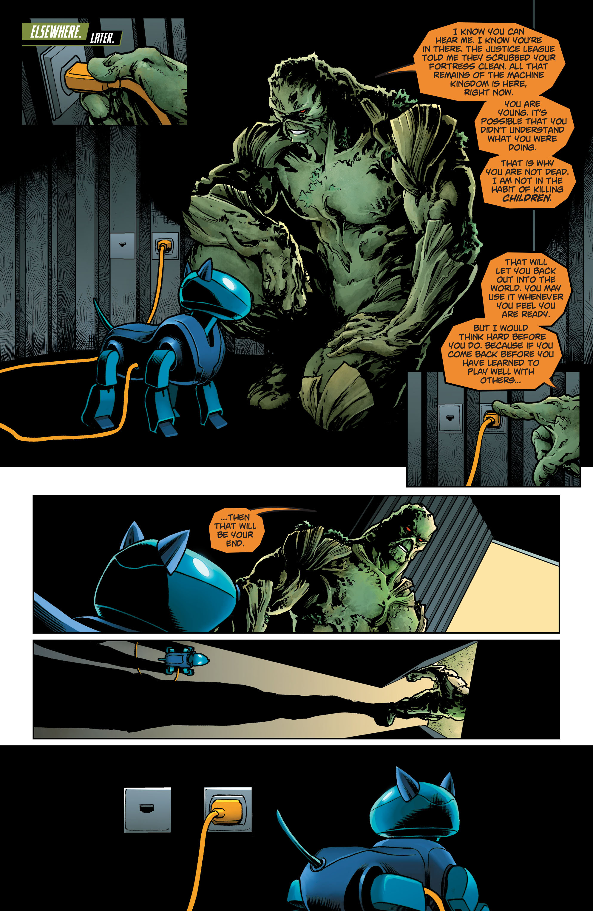 Swamp Thing (2011) Issue #40 #45 - English 24