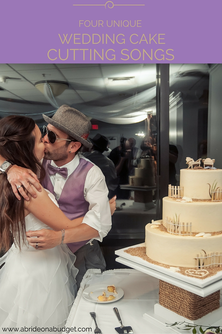 Four Unique Wedding Cake Cutting Songs