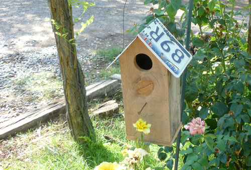September Giveaway #2: Birdhouse