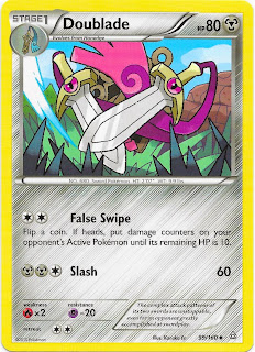 Doublade Primal Clash Pokemon Card