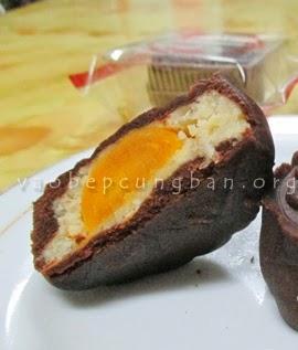 Cách làm bánh trung thu Sô cô la - Bánh Nướng tại nhà 3